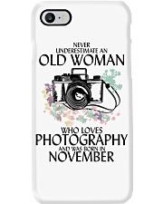 Old Woman Photography November Phone Case thumbnail
