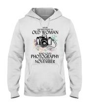 Old Woman Photography November Hooded Sweatshirt thumbnail