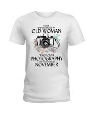 Old Woman Photography November Ladies T-Shirt thumbnail