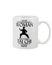 Never Underestimate Woman Tai Chi May Mug thumbnail