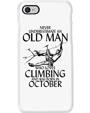Never Underestimate Old Man Climbing  October Phone Case thumbnail