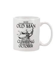 Never Underestimate Old Man Climbing  October Mug thumbnail