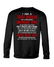 I'm A Lucky Husband Crewneck Sweatshirt thumbnail