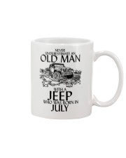 Never Underestimate Old Man Jeep July Mug thumbnail