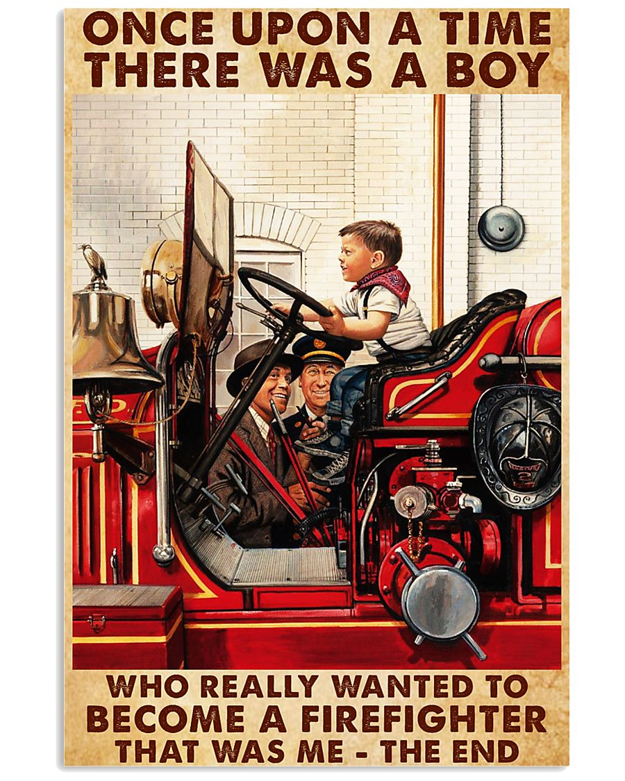 Once Upon A Time-Firefighter 24x36 Poster