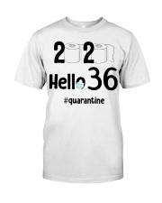 36th Birthday 36 Years Old Classic T-Shirt front