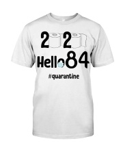 84th Birthday 84 Years Old Classic T-Shirt front