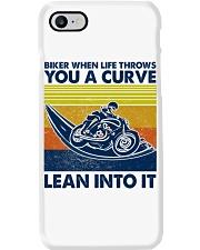 Biker When Life Throws You A Curve Phone Case thumbnail