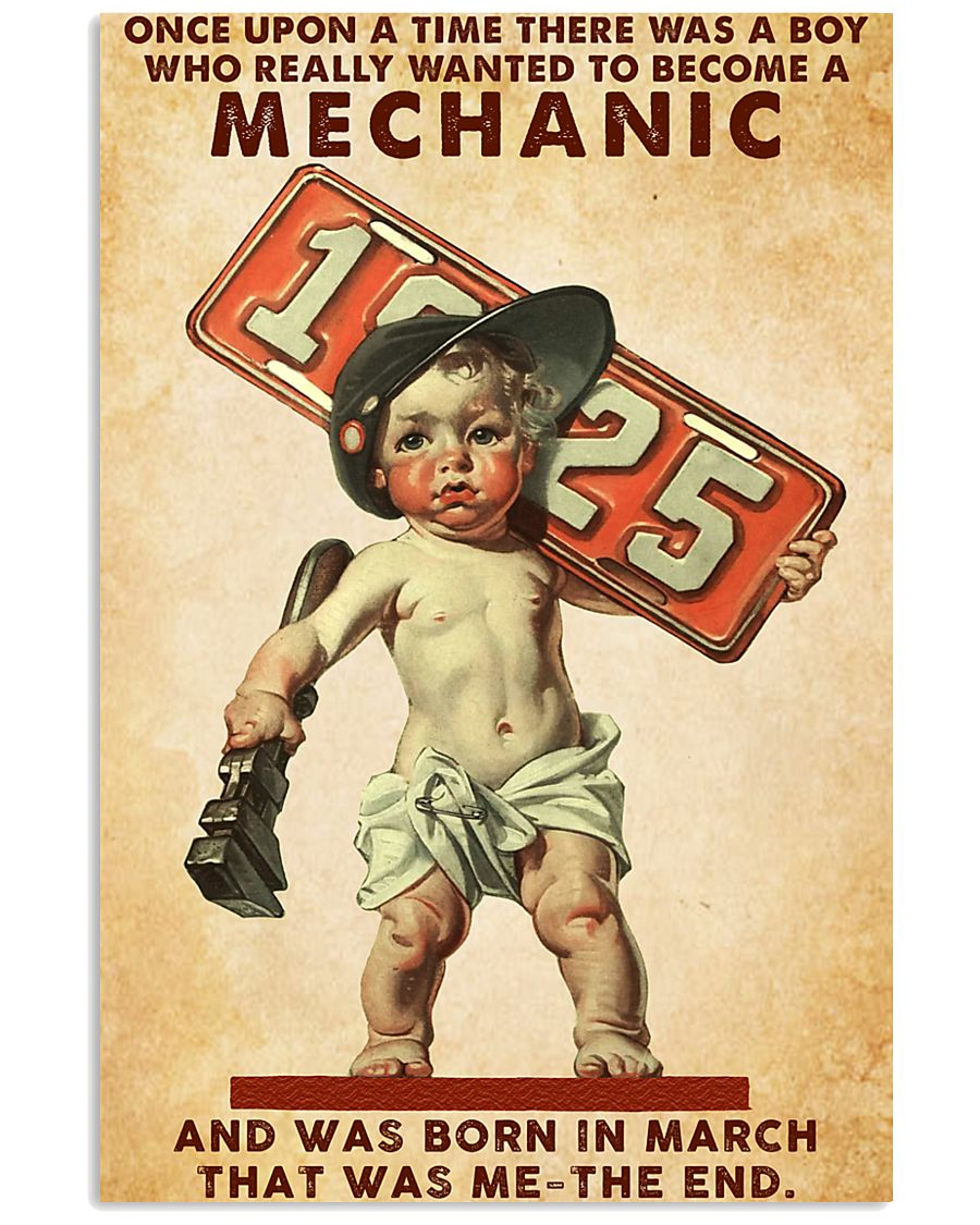 March Mechanic 24x36 Poster