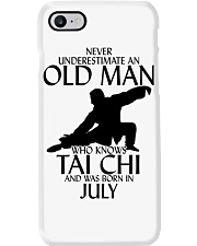 Never Underestimate Old Man Tai Chi July Phone Case tile