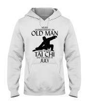 Never Underestimate Old Man Tai Chi July Hooded Sweatshirt tile