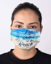 Life Is Better At The Beach Cloth Face Mask - 3 Pack aos-face-mask-lifestyle-01