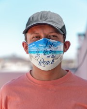 Life Is Better At The Beach Cloth Face Mask - 3 Pack aos-face-mask-lifestyle-06