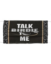 Talk Birdie To Me Golf  Cloth face mask thumbnail