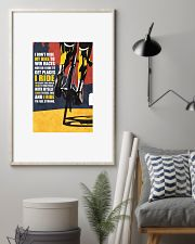 I DON'T RIDE MY BIKE TO WIN RACES Poster PS00071 24x36 Poster lifestyle-poster-1