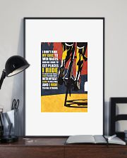I DON'T RIDE MY BIKE TO WIN RACES Poster PS00071 24x36 Poster lifestyle-poster-2