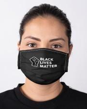 Black lives matter Cloth face mask aos-face-mask-lifestyle-01