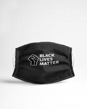 Black lives matter Cloth face mask aos-face-mask-lifestyle-22