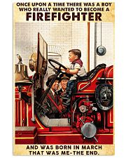 March Firefighter 24x36 Poster front
