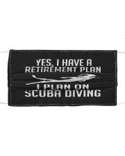 Scuba Diving Cloth face mask thumbnail