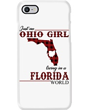 Just An Ohio Girl In Florida World Phone Case thumbnail