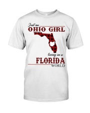 Just An Ohio Girl In Florida World Classic T-Shirt front