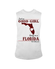 Just An Ohio Girl In Florida World Sleeveless Tee thumbnail