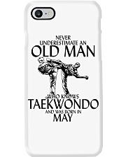 Never Underestimate Old Man Taekwondo May Phone Case thumbnail