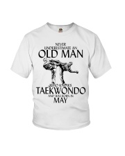 Never Underestimate Old Man Taekwondo May Youth T-Shirt thumbnail