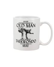 Never Underestimate Old Man Taekwondo May Mug thumbnail