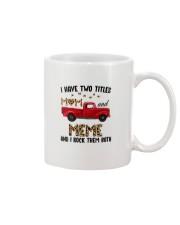 I Have Two Titles Mom And Meme Mug thumbnail