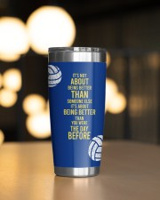 Volleyball It's not- Personalized Christmas Gift 20oz Tumbler aos-20oz-tumbler-lifestyle-front-04