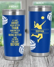 Volleyball It's not- Personalized Christmas Gift 20oz Tumbler aos-20oz-tumbler-lifestyle-front-59