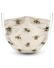 Bee 2 Layer Face Mask - Single front