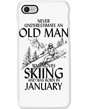 An Old Man Loves Skiing January Phone Case thumbnail