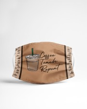 Coffee Teach Repeat Cloth face mask aos-face-mask-lifestyle-22