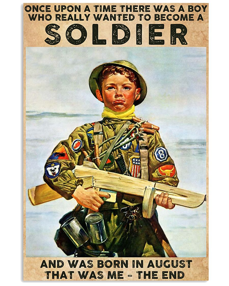 August Soldier 24x36 Poster