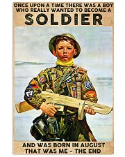 August Soldier 24x36 Poster front