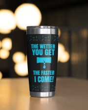Plumber The Wetter You Get The Faster Personalized 20oz Tumbler aos-20oz-tumbler-lifestyle-front-04