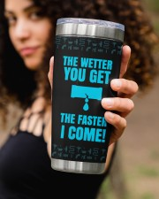 Plumber The Wetter You Get The Faster Personalized 20oz Tumbler aos-20oz-tumbler-lifestyle-front-93