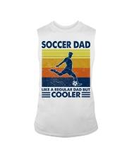 soccer Dad Like a regular dad but cooler Sleeveless Tee tile