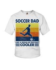 soccer Dad Like a regular dad but cooler Youth T-Shirt tile