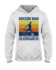 soccer Dad Like a regular dad but cooler Hooded Sweatshirt tile
