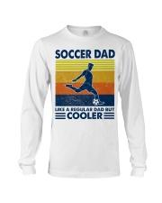 soccer Dad Like a regular dad but cooler Long Sleeve Tee tile