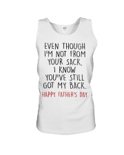 Even though I'm not from your sack Unisex Tank thumbnail