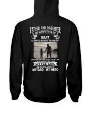 Father And Daughter Not Always Eye To Eye Hooded Sweatshirt thumbnail