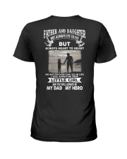 Father And Daughter Not Always Eye To Eye Ladies T-Shirt thumbnail
