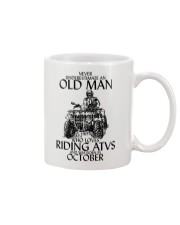 Never Underestimate Old Man ATVs October Mug thumbnail