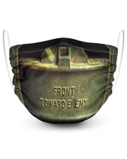 Front Toward Enemy 2 Layer Face Mask - Single front