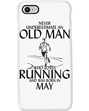 Never Underestimate Old  Man Running May Phone Case thumbnail